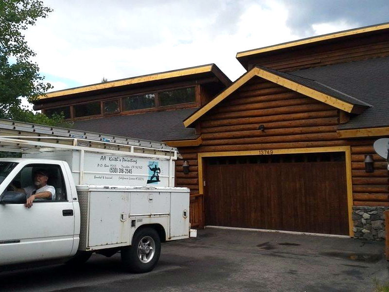 14-painting residential painter contractor deck commercial - truckee ca 96160